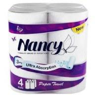 دستمال حوله ای 4 رول نانسی