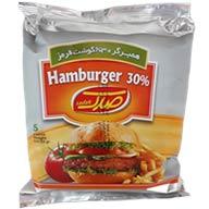 همبرگر معمولی ۳۰٪  صدک