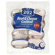 کوکتل گوشت و پنیر 202