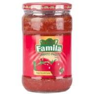 رب گوجه فرنگی شیشه ای فامیلا