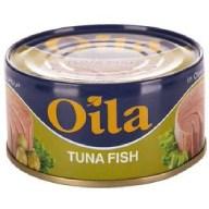 کنسرو تن ماهی روغن زیتون اویلا