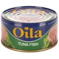 کنسرو تن ماهی سبزیجات اویلا