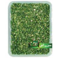 سبزی آش تازه پاک شده